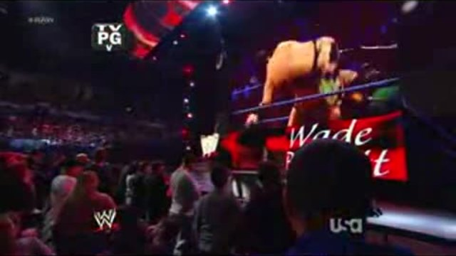 WWE - Wade Barrett & Cody Rhodes Vs. The Great Khali & Randy Orton 2012.02.06