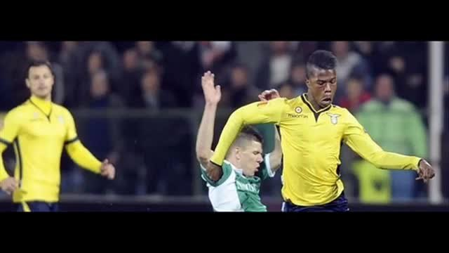 Лудогорец Лацио 3:3 (27.02.2014)  Ludogorets vs Lazio ( Europa League )