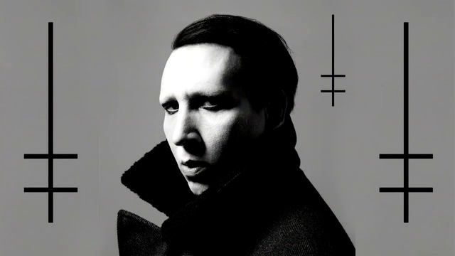 Marilyn Manson Tattoed In Reversed Наопаки