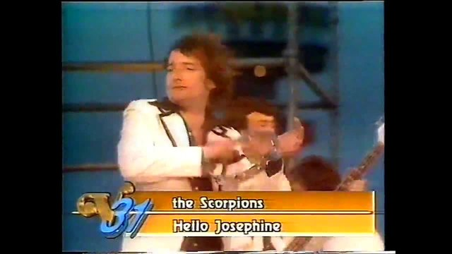 The Scorpions (1976) - Hello Josephine (Rare Late Original Footage Veronica Dutch TV)