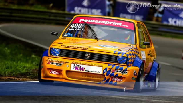 Vw Polo 2 8v - Nils Abb - European Hill Eschdorf 2015